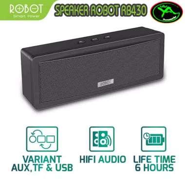 harga Robot Speaker Bluetooth RB430 Portable Wireless Super Bass Mini HIFI Blibli.com
