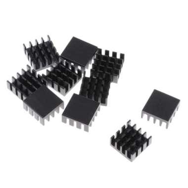 harga 10 Packs GPU CPU Graphics Card Thermal Heatsink Pad, 14x14x7mm, Aluminum - Blibli.com
