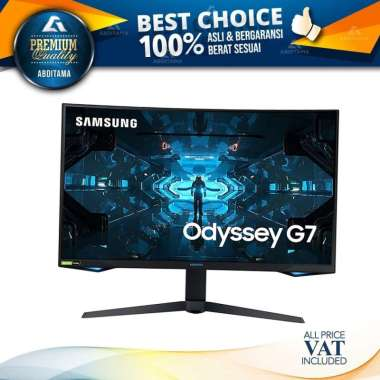 Monitor LED Samsung Odyssey C32G75 LC32G75 32
