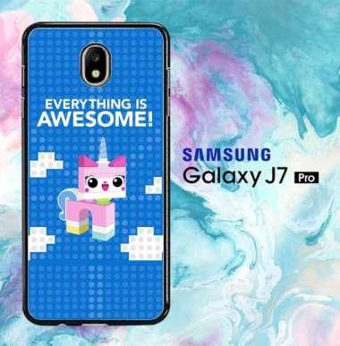 Supercase N Casing Hardcase the lego movie 2 the second part W5743 Samsung J7, J7 (2016), J7 Pro, J7 Prime, J7 (2018), J7 Plus, J7 DUO 16 combine Samsung J7 Prime
