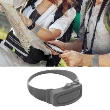 harga OEM Silicone Soap Bracelet Wristband Hand Dispenser Band Bracelet fo Hiking Camping Gray Blibli.com