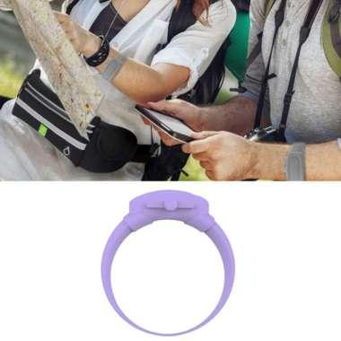 harga OEM Silicone Soap Bracelet Wristband Hand Dispenser Band Bracelet fo Hiking Camping Purple Blibli.com