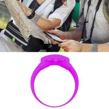 harga OEM Silicone Soap Bracelet Wristband Hand Dispenser Band Bracelet fo Hiking Camping Rose Red Blibli.com