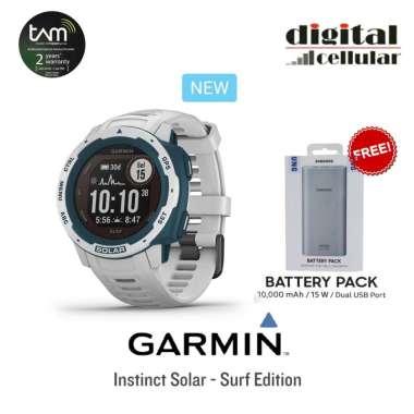 harga Garmin Instinct Solar Surf Edition [Free Powerbank Samsung 10000mah] Cloudbreak Blibli.com
