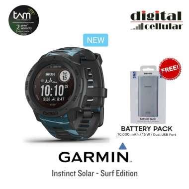 harga Garmin Instinct Solar Surf Edition [Free Powerbank Samsung 10000mah] Pipeline Blibli.com