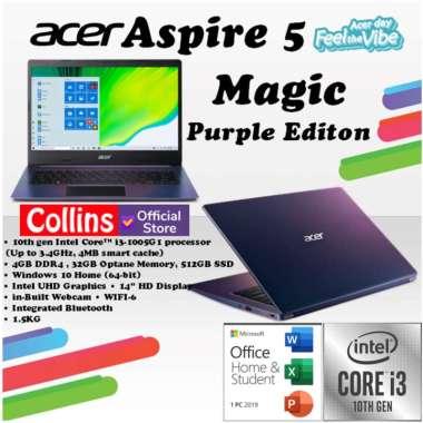 harga Acer Aspire 5 A514-53 - i3-1005G1 4GB 512GB + INTEL OPTANE 14