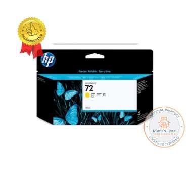 harga HP Tinta Plotter 72 130ml - Yellow yellow Blibli.com