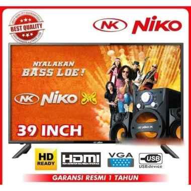 harga Niko LED TV 39 Inch Televisi HD Ready NK-39Beta sesuai Blibli.com