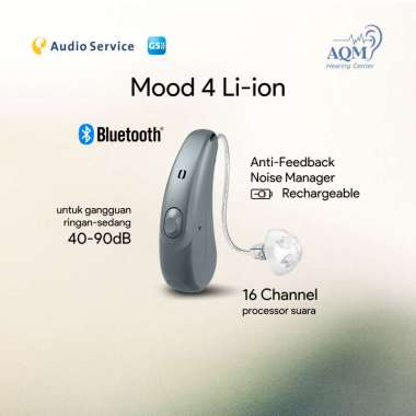 harga Alat Bantu Dengar Bluetooth Siemens Audioservice Mood G5 Rechargeable Blibli.com