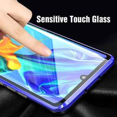 harga Huawei Nova 5T Luxury Magnetic Front+Back Glass Hard Case  Cover Terlaris Multicolor Multicolor Blibli.com