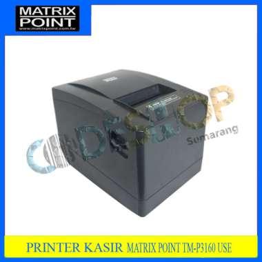 harga PRINTER BLUETOOTH POS KASIR THERMAL 80MM MATRIX POINT 3160 (RJ11) hitam Blibli.com
