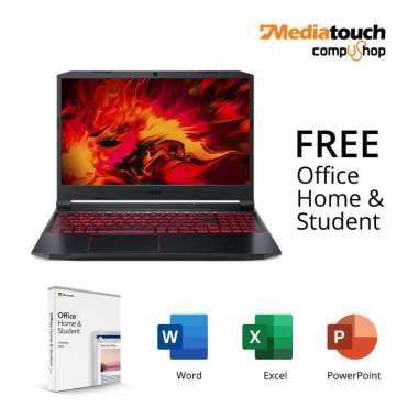 harga Acer Nitro 5 AN515-44-R2Z0 - Ryzen 5 4600H / GTX 1650Ti 4GB / 8GB DDR4 / 512GB SSD / Windows 10 + OHS Black Blibli.com