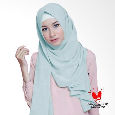 Milyarda Hijab diamond Pashmina - Baby blue