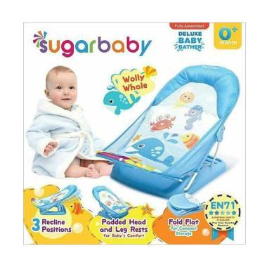 Sugar Baby Deluxe Baby Bather Wolly Whale Kursi Mandi Bayi