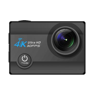4k Ultra HD 30fps Q3H-2 Action Camera - Black [16 MP/WiFi]