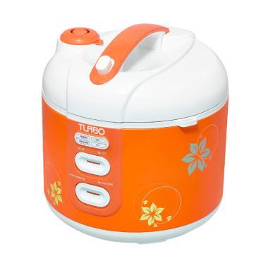 Turbo CRL1180 Rice Cooker - Orange [1.8 Liter]