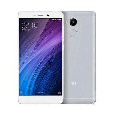Xiaomi Redmi 4 Prime Smartphone - Silver [32GB/3GB]