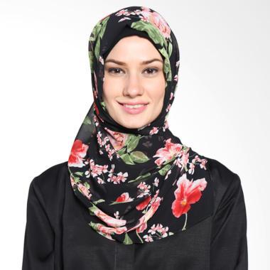 Tatuis Pashmina Damour 045 Pashmina Hijab  - Black