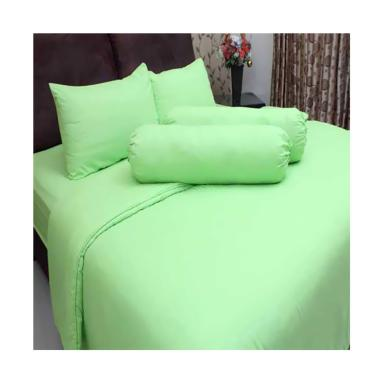 Chelsea Microtex Polos Set Sprei dan Bed Cover - Lime