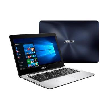 Asus A456UR-GA091D Notebook - Dark Blue [i5-7200U/ GT930MX/ DOS]