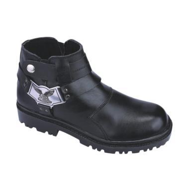 Catenzo LI 065 Sepatu Boots Safety Pria - Black