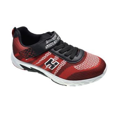 Homyped Sepatu Sekolah Anak Super Fly 01 Red