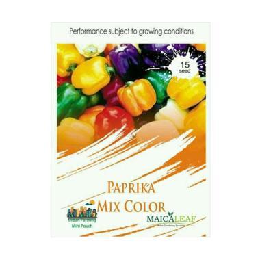 Maica Leaf Paprika Mix Color Benih Tanaman [15 Benih]