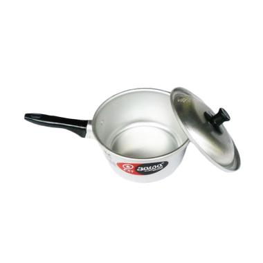 Maspion Aluminium Panci Susu - Silver [18 cm]
