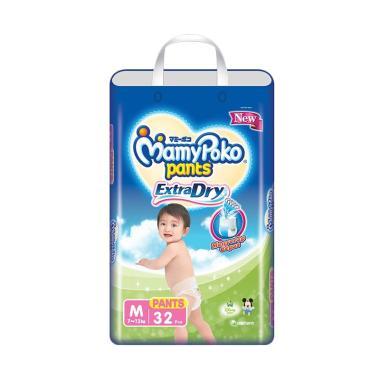 MamyPoko Pants Extra Dry Popok Bayi [M 32]