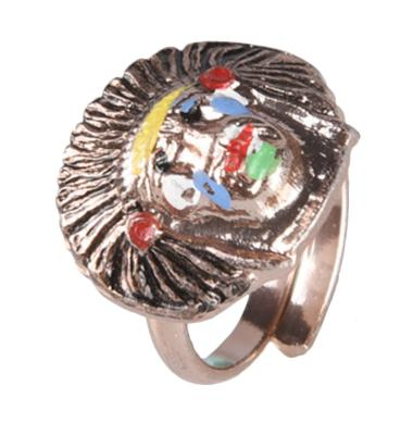 1901 Jewelry Apache Ring CC.231.HR9 Cincin - Colorful