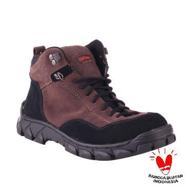 Catenzo Angelonia Kulit RR 023 Sepatu Boots Pria