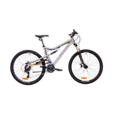 THRILL OUST1.0 27.5X18AFMT Sepeda MTB - Grey Orange