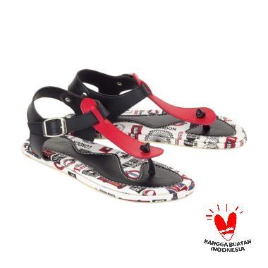 Blackkelly Abrielle LTD 654 Sandal Flat Wanita