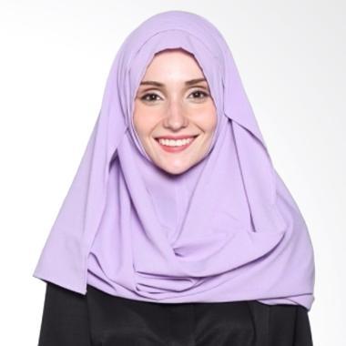Rijani Fashion Pashmina Instan - Ungu