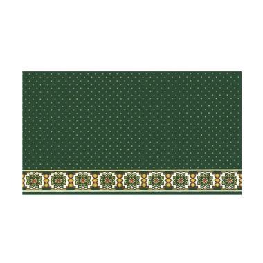Vision 159019 Mecca Roll Karpet Sajadah - Hijau [120 x 600 cm]