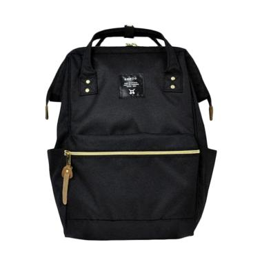 Anello Oxford Backpack Tas Ransel - Hitam [Size L]