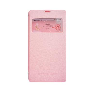 Mercury Wow Bumper Casing for Sony Xperia C3 - Pink
