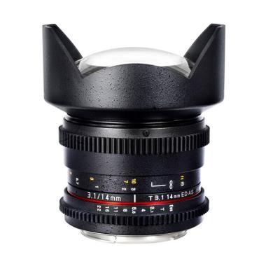 Samyang Lens 14mm T3.1 VDSLR MK II For Canon - Black
