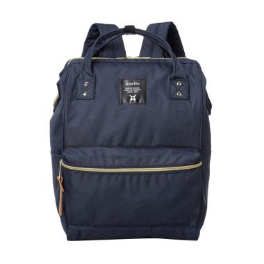 Anello Oxford Backpack Tas Ransel - Navy [Size L]
