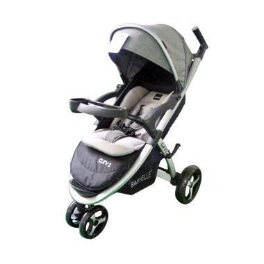 Babyelle S700 Curv 2 New Kereta Dorong Bayi - Grey