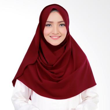 Cotton Bee Syakilla Hijab Instant - Maroon