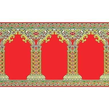 Vision 21003 Medeena Sajadah Roll - Pilar Merah [105 x 570 cm]