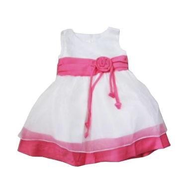 Wonderland Beautiful Girl Dress - Putih