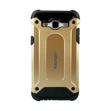 new concept 851eb b95ae Spigen Iron Man Casing for Samsung Galaxy J2 Prime - Gold