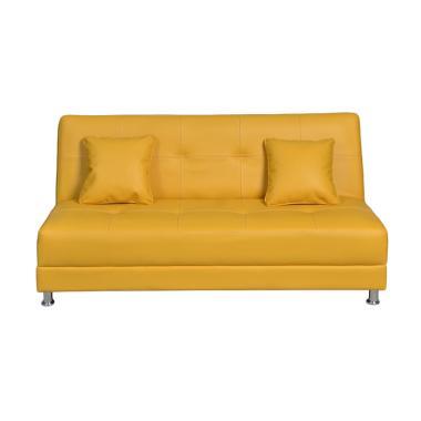 Olc Luxio Sofa Bed - Kuning [Khusus Jabodetabek]