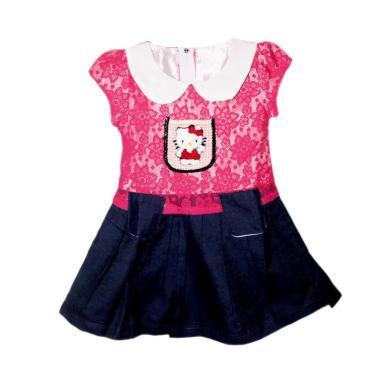 TWO MIX Broklat Jeans 1909 Dress Anak - Pink [Size 2]