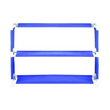 Nine box NBX-W3 Rak Sepatu Portable - Blue