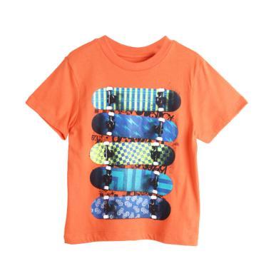 Cargo 09 Skateboard Boys T-Shirt Br ... u Anak Laki Laki - Orange