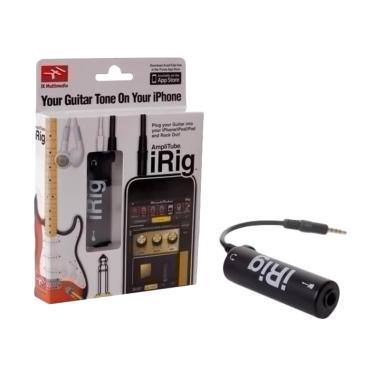 harga Irig Ampli Tube Guitar Interface Converter for iOS Iphone/ Ipad/ Ipod Blibli.com