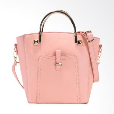 Elizabeth Bag Alma Handbag - Merah Muda